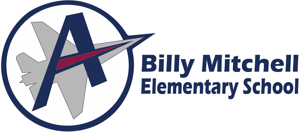Billy Mitchell Elementary School Logo